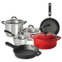 Tramontina 10-Piece Kitchen Essentials Multi-Material Cookware
