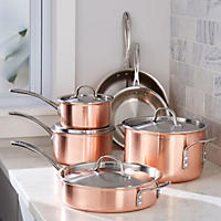 Calphalon Tri-Ply Copper 10 Pc  Cookset