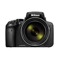 Nikon Coolpix P900 16MP CMOS Sensor Digital Camera with 83x Optical Zoom