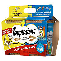 (Free Shipping)Temptations Cat Treats, Club Value Pack (16 oz., 2 pk.)