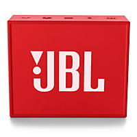 JBL GO Bluetooth Speaker (2-Pack), Built-in Speakerphone with 5-Hour Rechargeable Battery, Available in Red
