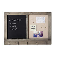 Umbra Wall Organization Board, Half Chalkboard & Half Pin Board