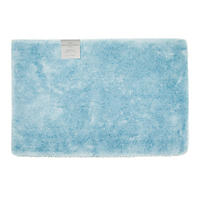 "Hotel Luxury Reserve Collection Bath Rug 24"" x 36"" - Light Blue"