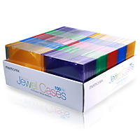 Memorex Slim Jewel Case - 100 pk.