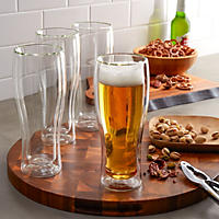 Henckels International 14-oz. Double Wall Beer Glass, 4-pack