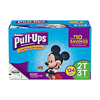 D - Huggies Pull-ups Training Pants for Boys, M 2T - 3T (124 ct.)