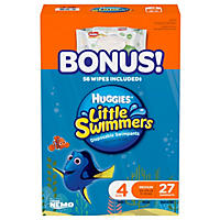 Huggies Little Swimmers Swimpants, Medium (24 - 34 lbs.) - 27 ct.