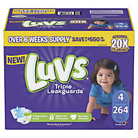 Size 4 - Luvs Ultra Leakguards Diapers