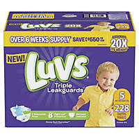 Size 5 - Luvs Ultra Leakguards Diapers