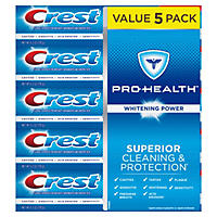 Crest Pro-Health Whitening Power Toothpaste (6.3 oz., 5 pk.)