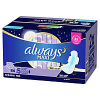Always Maxi Overnight - Extra Heavy - 54 ct.