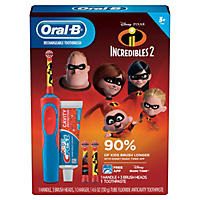 Oral-B Kids Incredibles Rechargeable Toothbrush