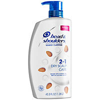 (Free Shipping) Head & Shoulders 2-n-1 Dandruff Shampoo & Conditioner, Dry Scalp Care (43.3 fl. oz.)