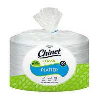 (Free Shipping)Chinet - Extra Large Platters - 100 ct.