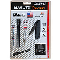 (Free Shipping) Maglite Gerber Set