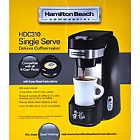 Hamilton Beach Commercial Deluxe Single-Serve Coffeemaker