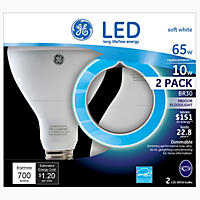 GE LED BR30 Floodlight (2 pk.)