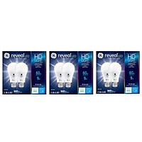 GE HD+ Reveal 60 Watt Replacement Led Dimmable A19