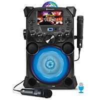 Singing Machine Fiesta Voice with LCD Monitor, Rechargeable Battery and Bluetooth Streaming