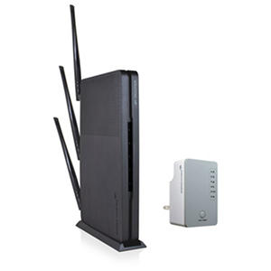 Amped Wireless Ultra Fast Wi-Fi Router and Range Extender Bundle