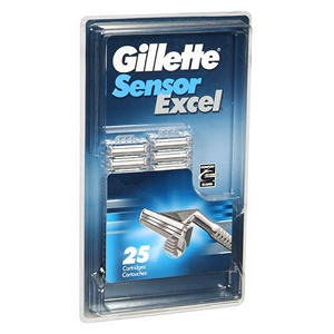 Gillette Sensor Excel Cartridges - 25 ct.