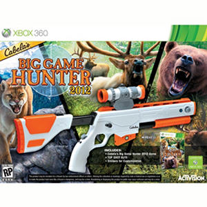 Cabelas Big Game Hunter 2012 With Gun Xbox 360