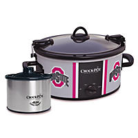 Crock Pot NCAA 6-Quart Slow Cooker, Ohio State Buckeyes