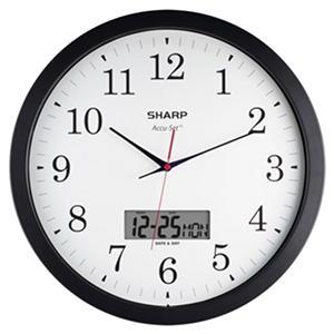 Sharp Accuset Round Wall Clock 14in Samsclub Com Auctions
