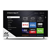 "Hitachi 65"" Class 4K UHD Roku Smart LED TV - 65R8"