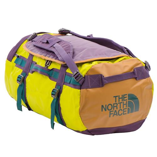 The North Face Base Camp Duffel Bag Medium-Depth Green Venom Yellow ... bf83a0f59