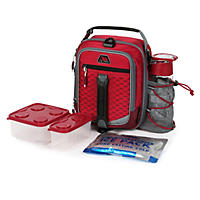 Arctic Zone High-Performance Dual-Compartment Lunch Box (Maroon)