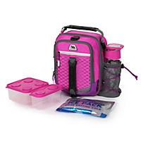 Arctic Zone High-Performance Dual-Compartment Lunch Box (Pink)