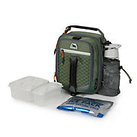 Arctic Zone High-Performance Dual-Compartment Lunch Box (Green)