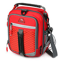 Arctic Zone High-Performance Dual-Compartment Lunch Box (Red)