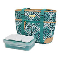 Arctic Zone Ladies Lunch Tote-Insulated Bucket-Mandala Doodle