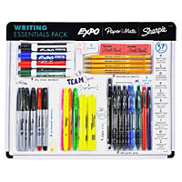 (Free Shipping)Sharpie Expo Paper Mate Writing Essentials Assortment (37 pc.)