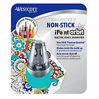Westcott iPoint Orbit Electric Pencil Sharpener