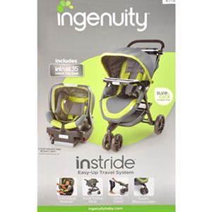 Ingenuity InStride Pro Easy Up Travel System
