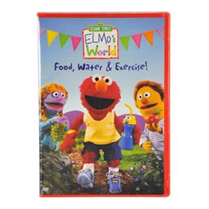 Elmo S World Food Water And Exercise Dvd Samsclub