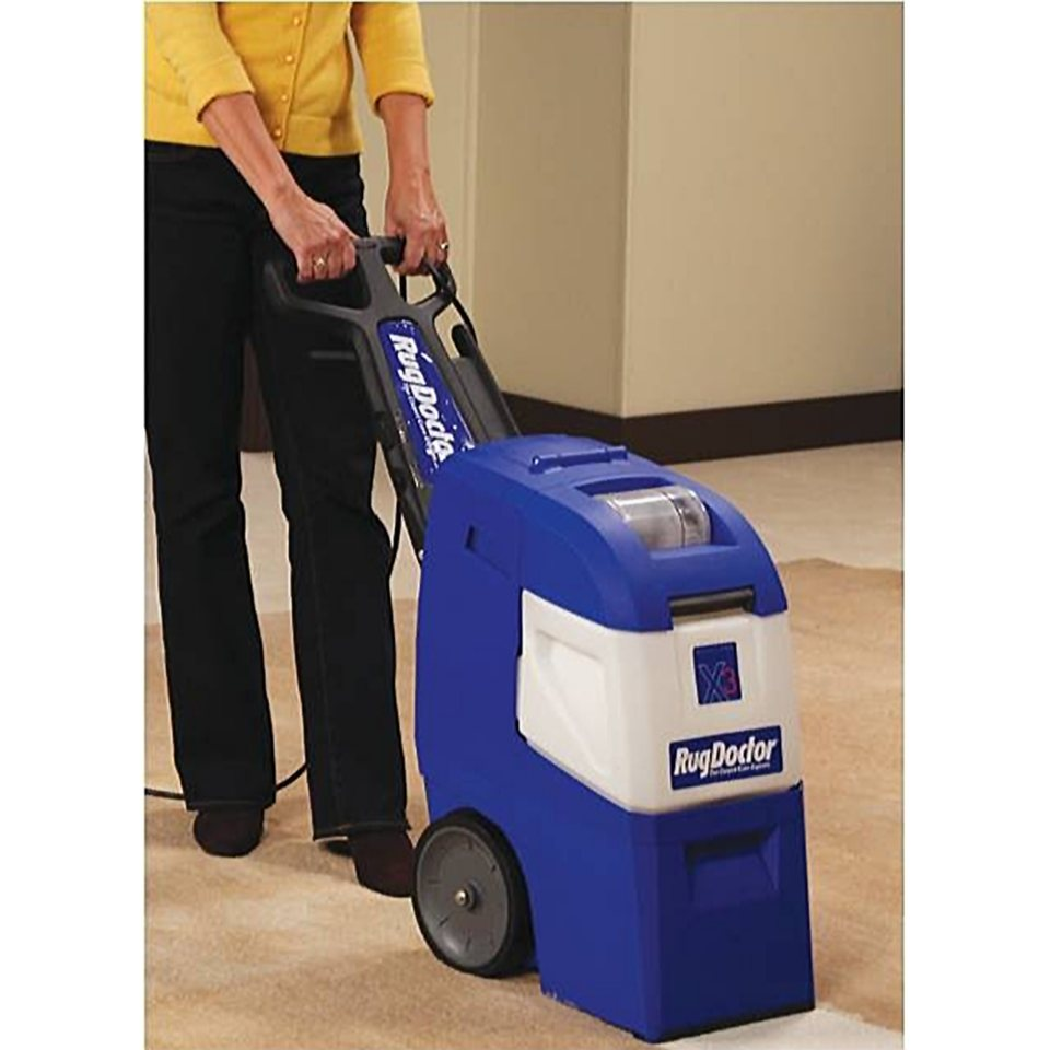 Rug Doctor X3 Mighty Pro Carpet Cleaner With Upholstery Kit