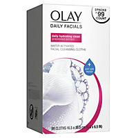 Olay 4 in 1 daily facial cloths