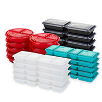 GoodCook Meal Prep, 120-piece portion controlled containers, one-year supply
