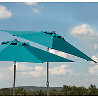 Member's Mark 10 ft Market Umbrella, Teal