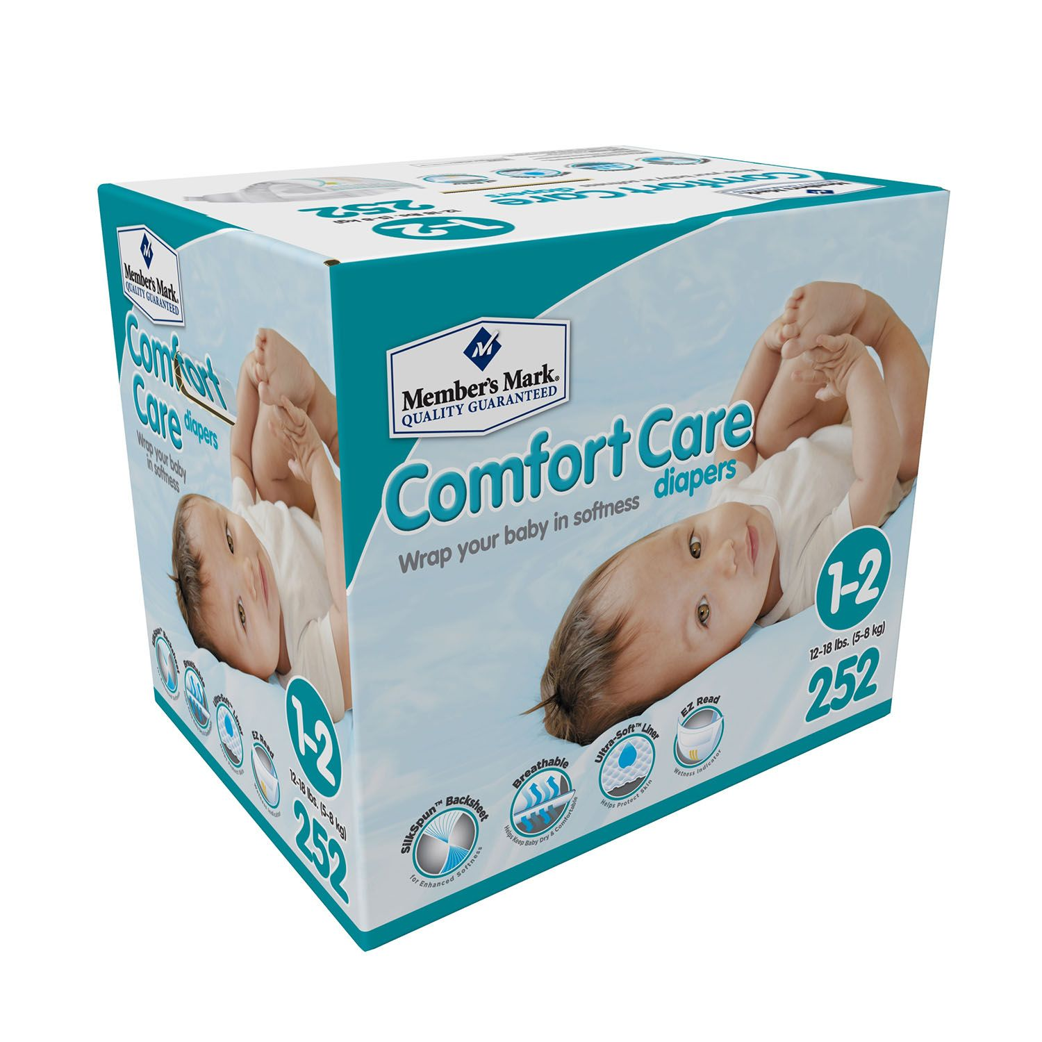 Sam s club credit card payment - Member S Mark Comfort Care Diaper Bundle Choose Your Sizes