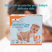 Size 3 - Member's Mark Comfort Care Baby Diapers