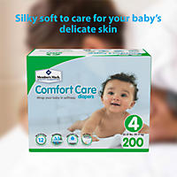Size 4 - Member's Mark Comfort Care Baby Diapers