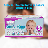 Size 5 - Member's Mark Comfort Care Baby Diapers
