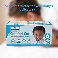 Size 6 - Member's Mark Comfort Care Baby Diapers