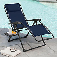 Member's Mark XL Antigravity Chair - Indigo