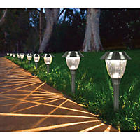 Member's Mark Solar LED Pathway Lights, 10-Pack